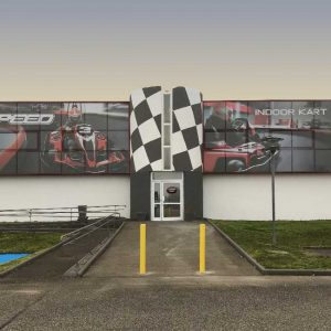 K1 Speed Lyon Entrance