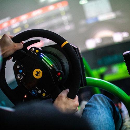 RS Simulateur steering wheel