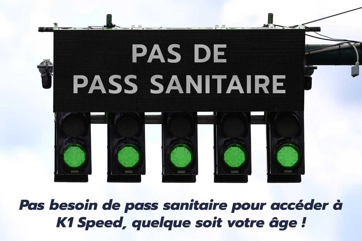 pas de pass sanitaire